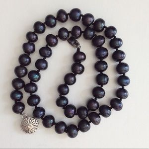 Jewelry - AAA Baroque Iridescent color Pearl necklace